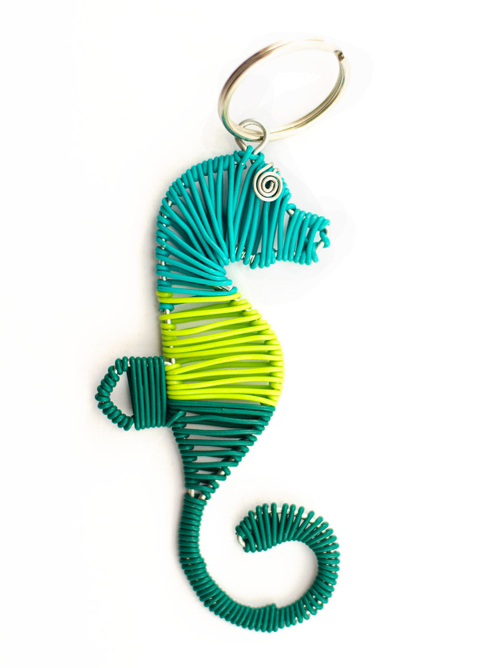 2D Scooby Seahorse keyring