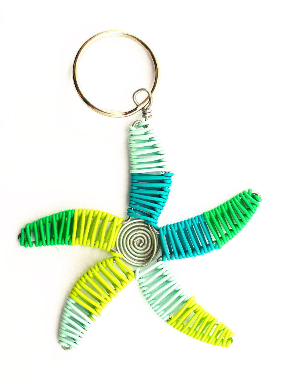2D Scooby starfish keyring