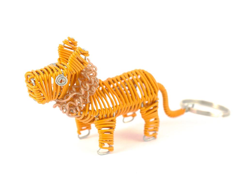 Scooby Lion keyring