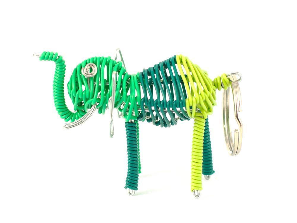 3D scooby elephant keyring