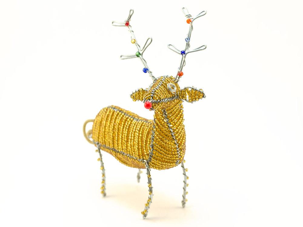 3D Standing Reindeer