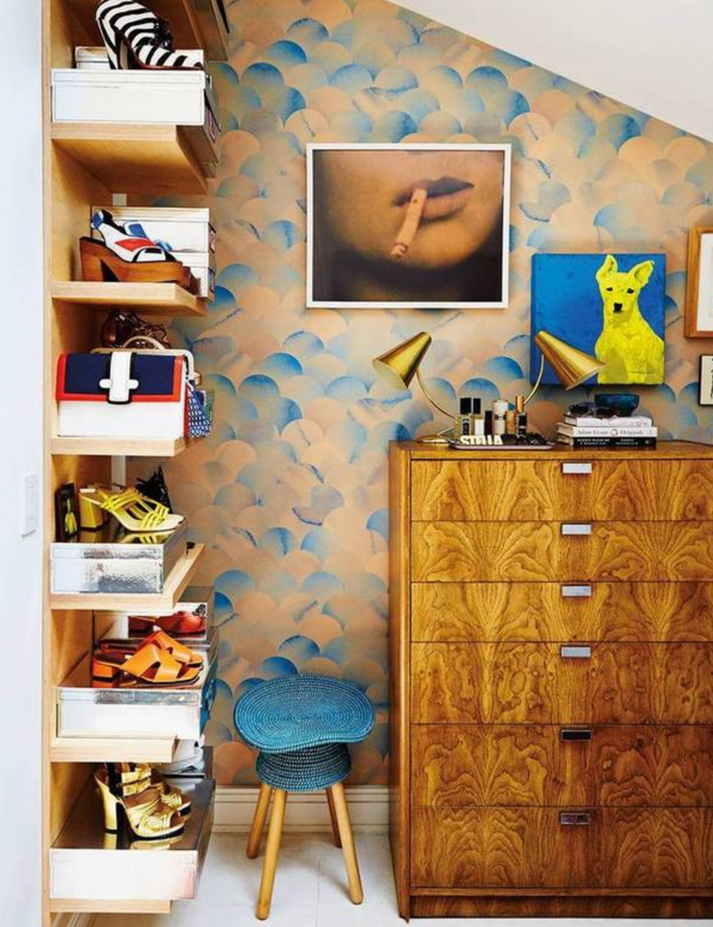 Interior design by Baxter Projects. Photography by Nicole Franzen for Domino Magazine.