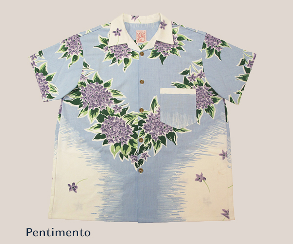 Hand Made Floral Table Cloth Shirt