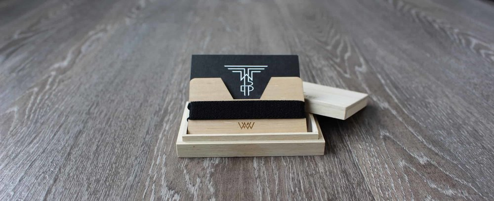 Wooden Wallets - Perfect for the minimalist and the pessimist