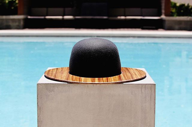 It's time to dress meritoriously - it's time for the Wood Wilder Wooden Fedora - colab with and photos by @teddywinstonbrand