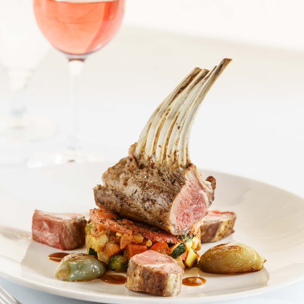Rack of Lamb Dinner Menu