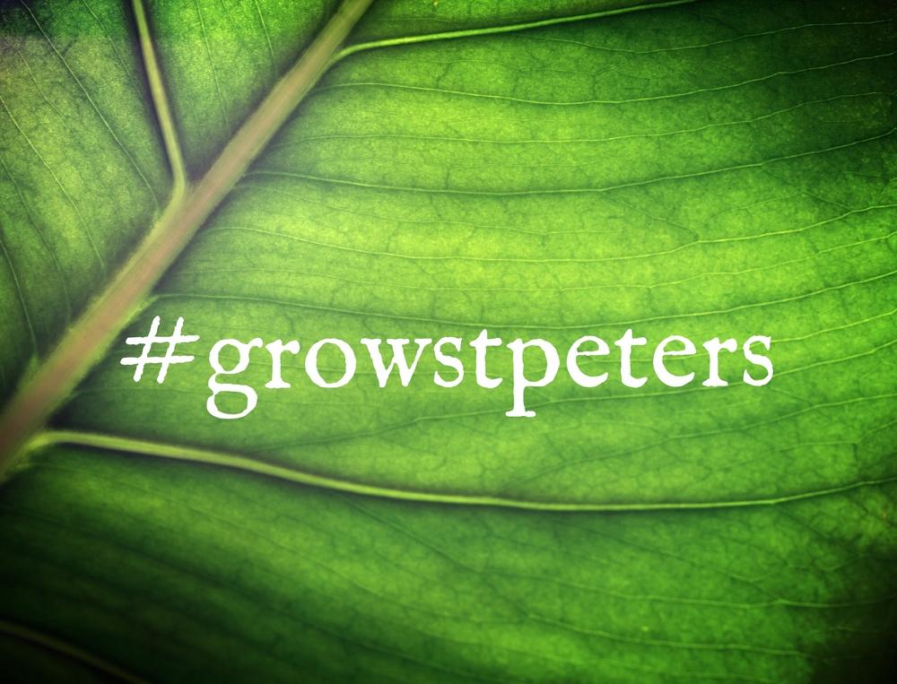 #GrowStPeters