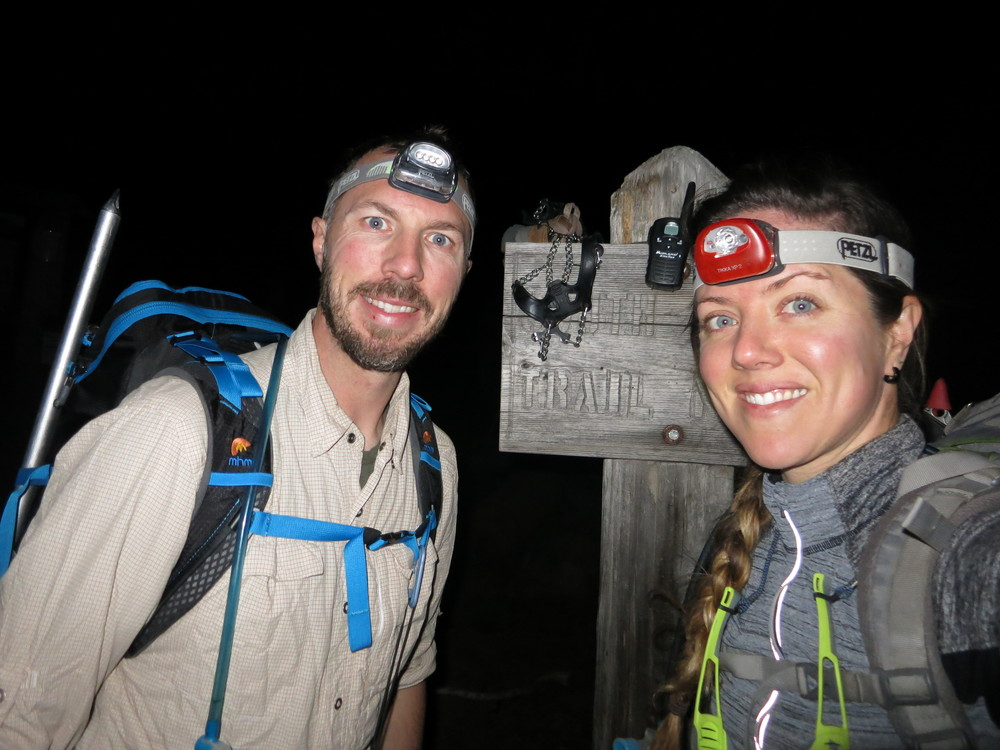 Starting our climb at 0230.  Yay.