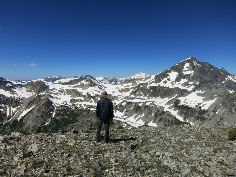 Summit of North Spectacle Butte.