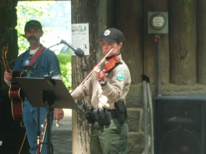 Yes, I was a violin playing ranger.