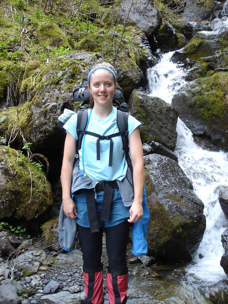 Undeniable proof that I had no clue what I was doing on my first backpacking trip.  Just say no to superfluous gaiter usage.