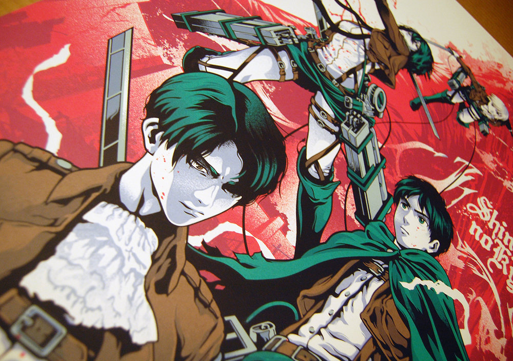 Iaccarino Attack On Titan Screenprint Detail (2).JPG