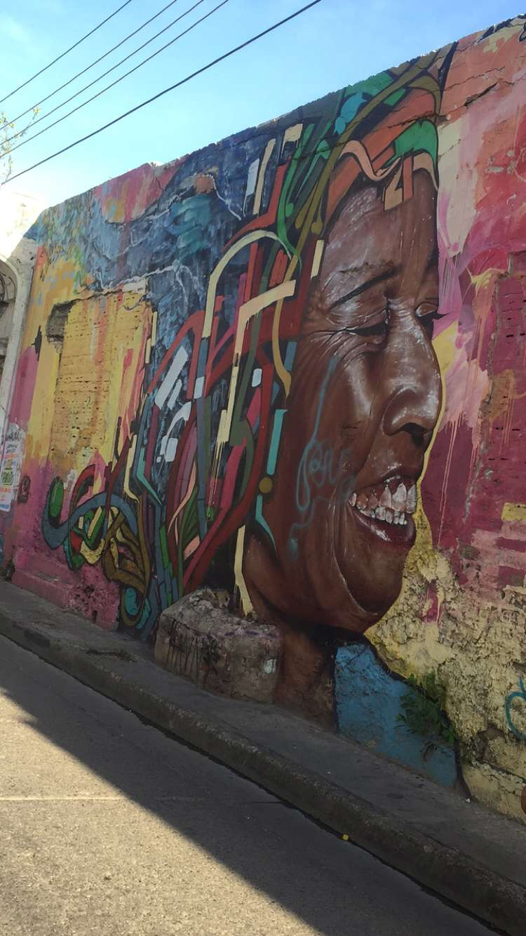 The murals throughout the city showed so much history and culture!