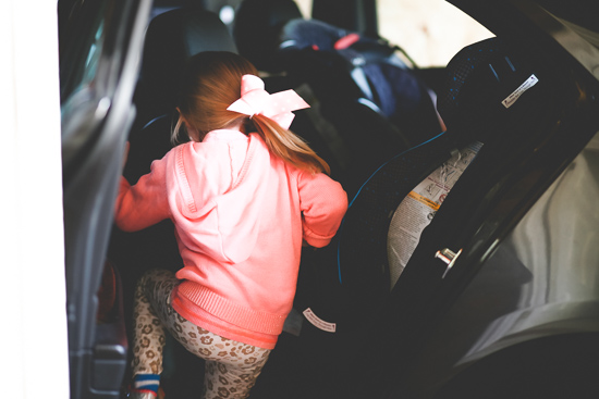 The task of a short trip with kids