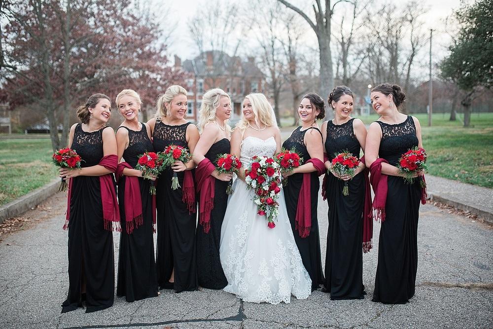 kentucky christmas wedding