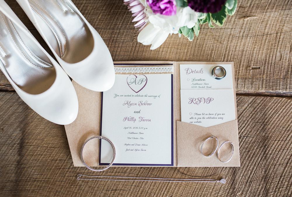 wedding day details muhlhauser barn