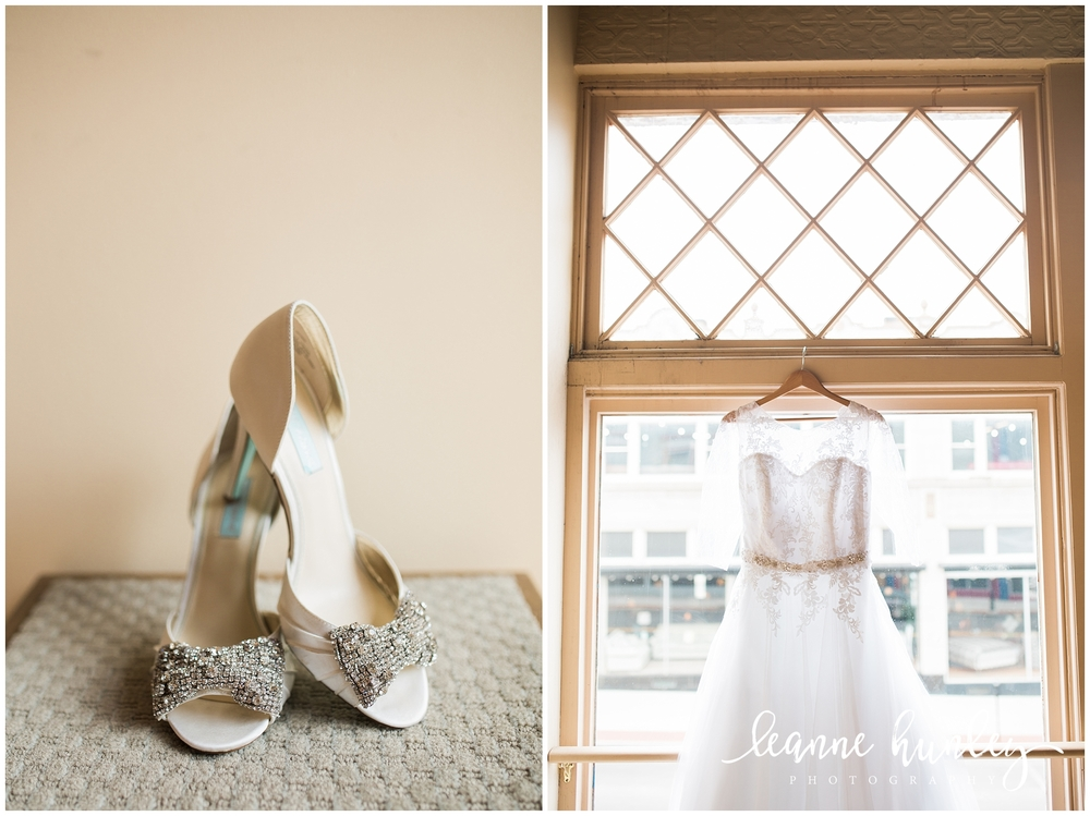 wedding shoes and lace wedding dress cincinnati