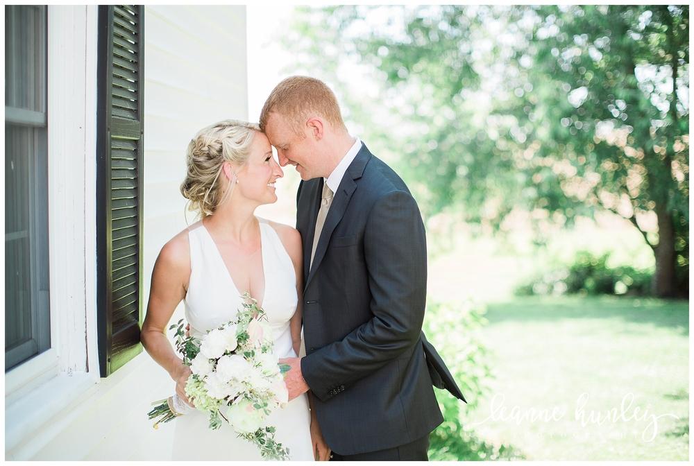 bride and groom portraits in kentucky