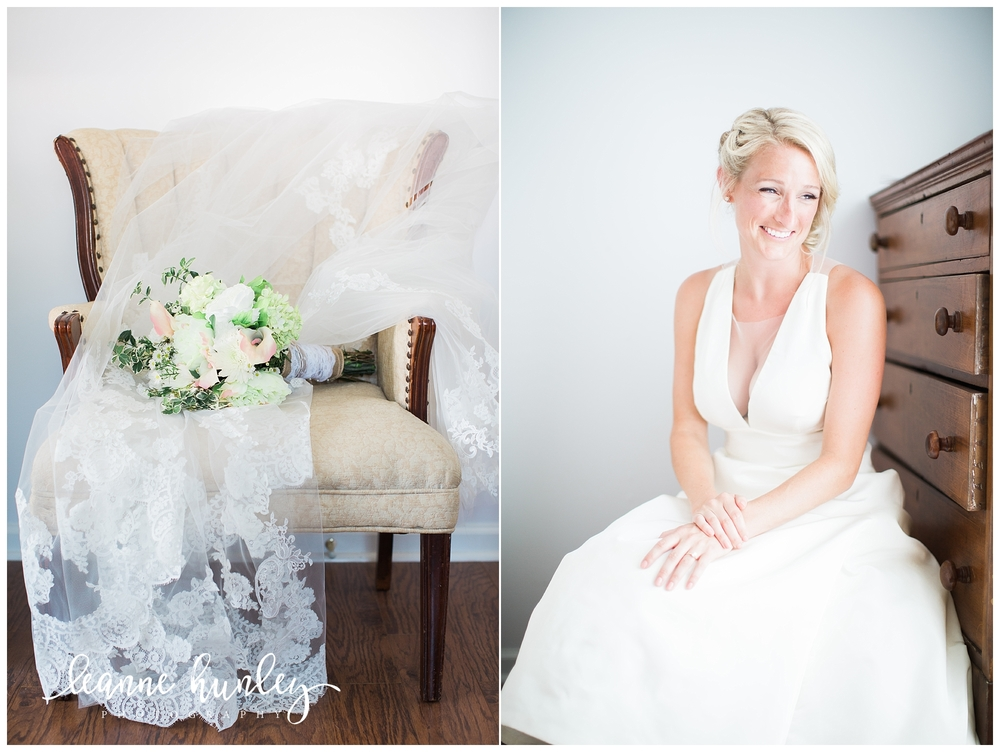 bride getting ready in kentucky