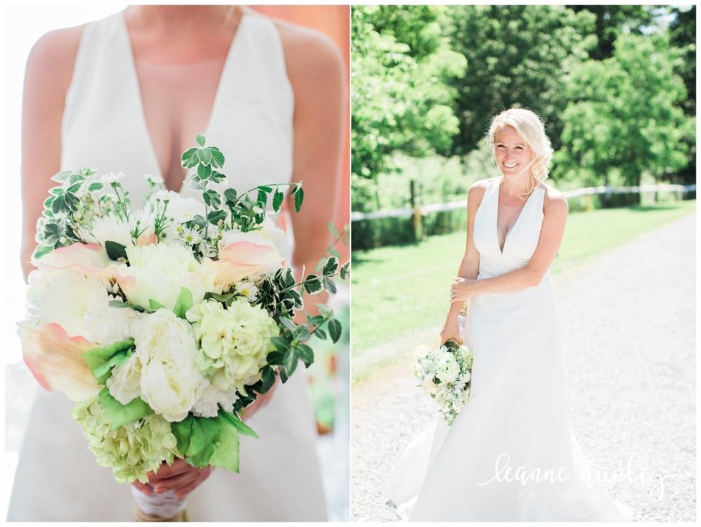 Bride + Bridal Bouquet