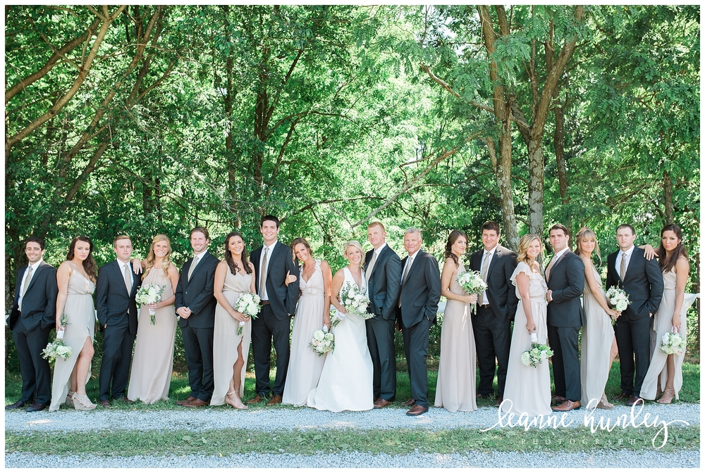 Bridal Party in Kentucky