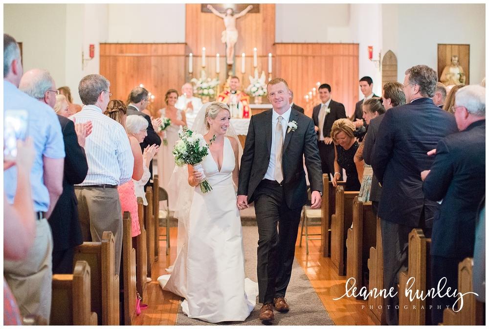 Bride + Groom just married