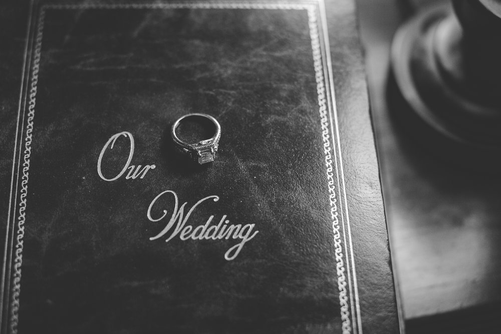 Or give me access to your parents wedding album and I will implement your details on the old album :)