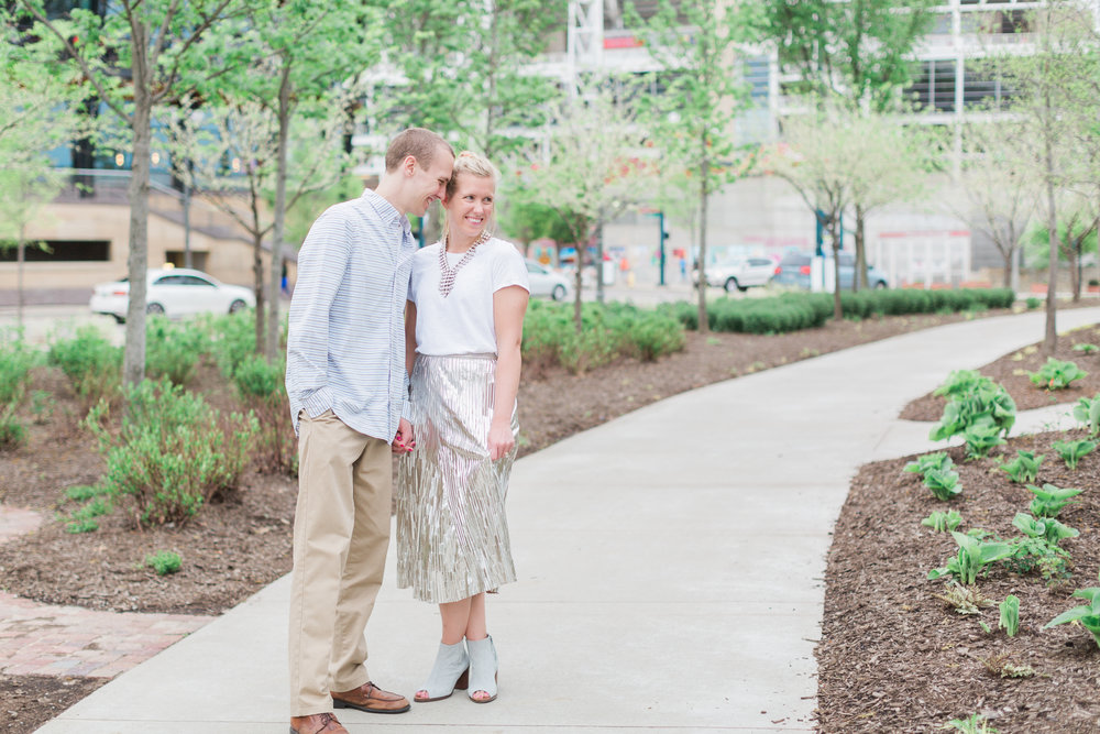 couple in smale park