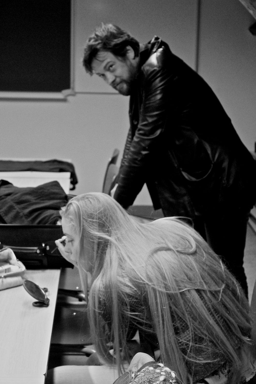 Peter Verhelst en Lieselot De Wilde by Laura D'Halleweyn
