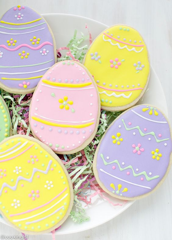 Classic Easter Sugar Cookie