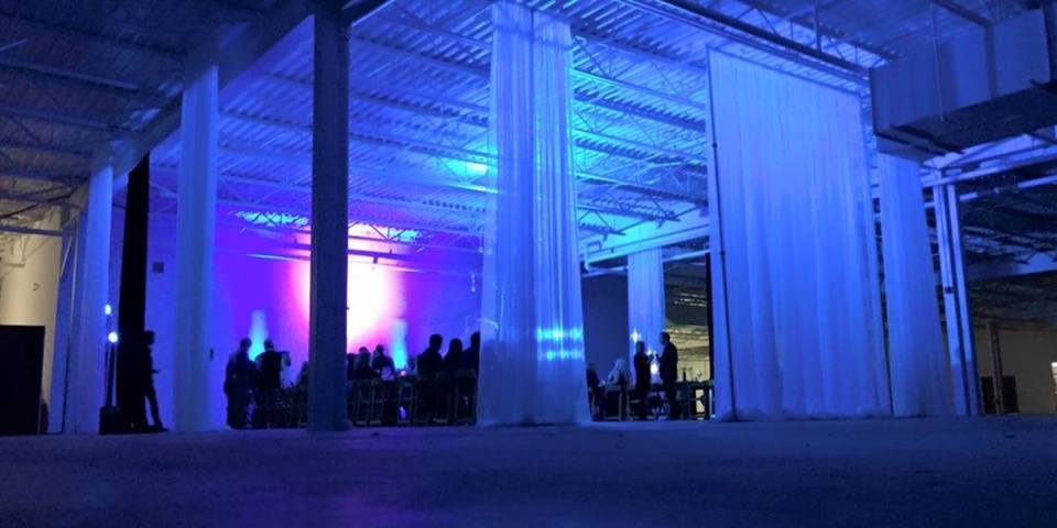 Dining in a Warehouse