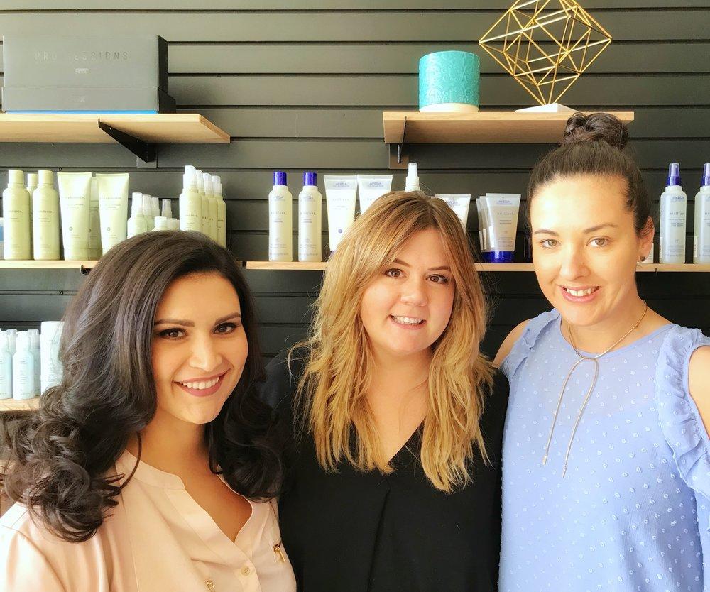 L-R: Carolina Soares, Charise Bauman & Jill Reitzel