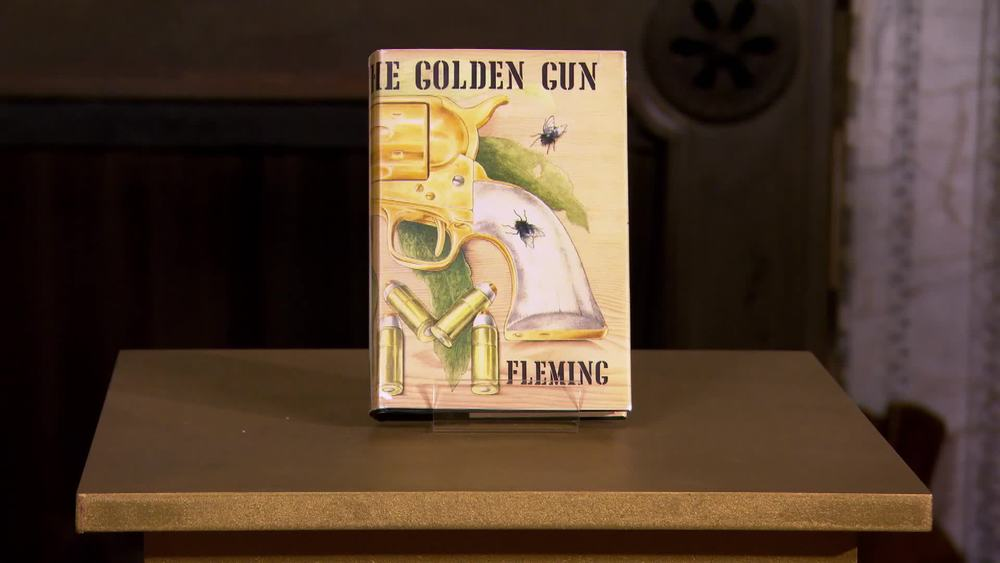 The Man With the Golden Gun (Fleming). 1965. First edition in dust jacket. £290| George Bayntun Fine Bindings and Rare Books | www.georgebayntun.com