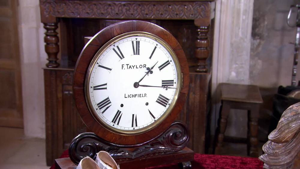 An Early 20th Century Enamelled Wall Clock. £280 | Private collection
