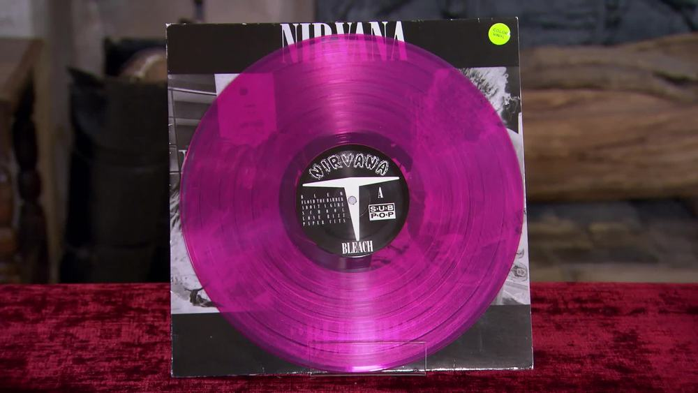 "1989 Nirvana Limited Edition LP ""Bleach"" £200 