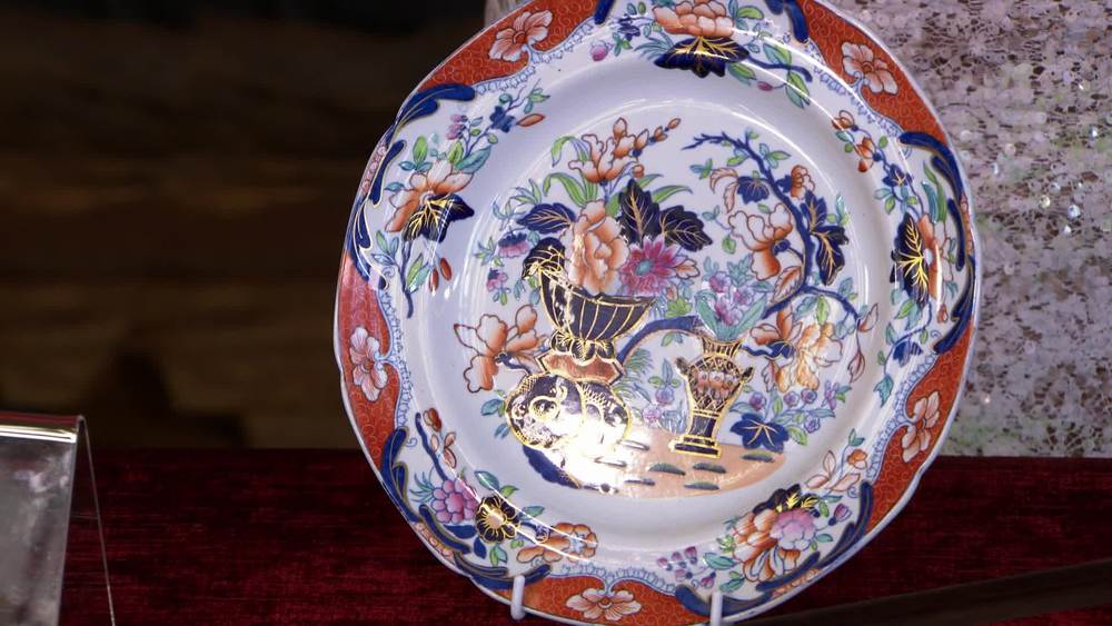 19th century Spode transfer printed plate. £20 | The Swan | www.theswan.co.uk