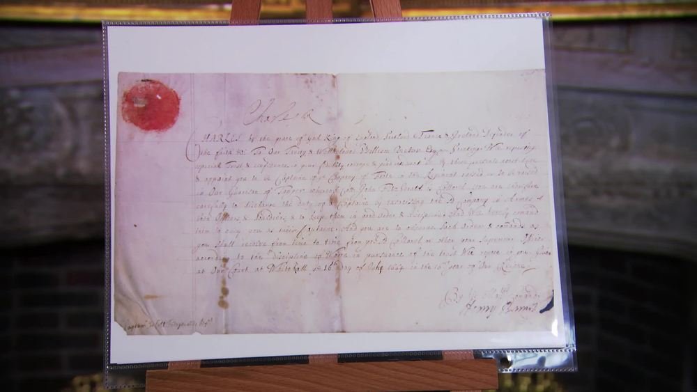 Charles II signed document from 1664. £1250 | Frasers Story | www.frasersautographs.com