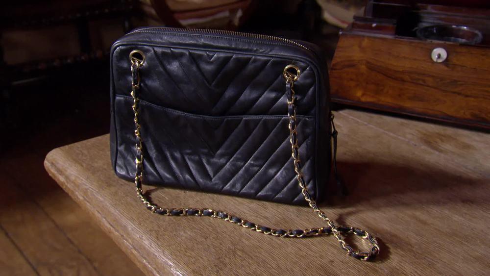 1987 Chanel camera bag. £1700 |Circa Vintage |www.circavintage.com