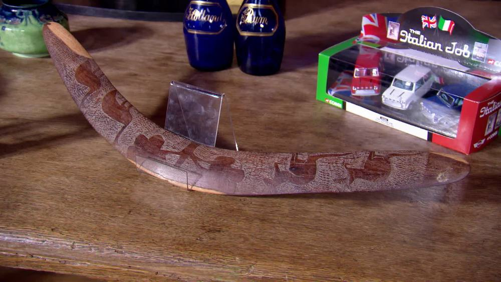 Aboriginal boomerang. £140 | The Swan | www.theswan.co.uk