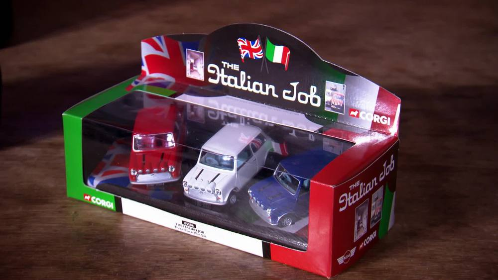 Italian Job toy cars. £50 | Private Collection