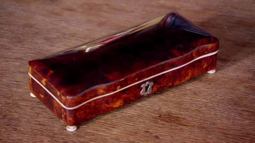 19th Century Tortoise Shell Jewel Box. £350 | The Swan | www.theswan.co.uk