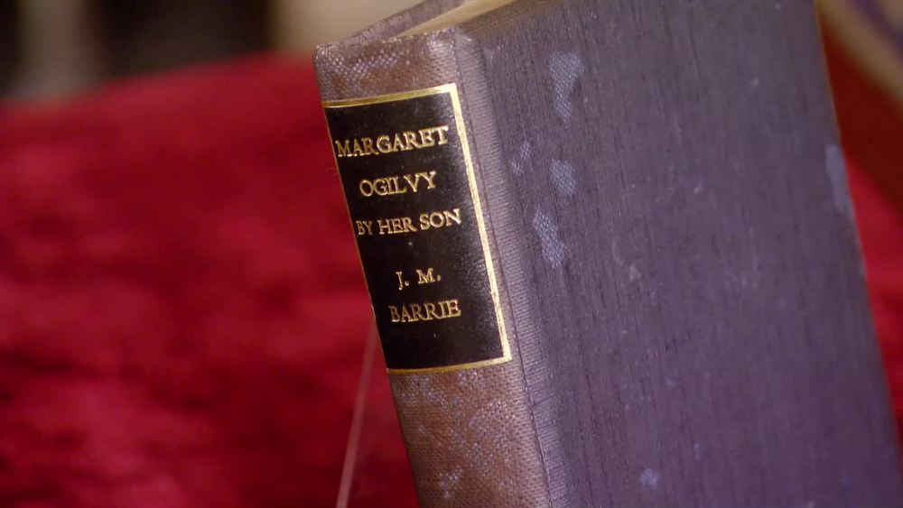 "'Margaret Ogilvy', a memoir of his mother, signed and inscribed ""Yours Sincerely J. M. Barrie"", £280 