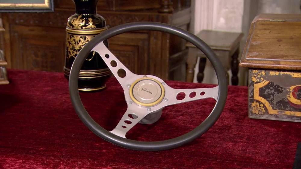 Steering Wheel from mark 2 Ford Cortina (1968-71). £140 | Private Collection.