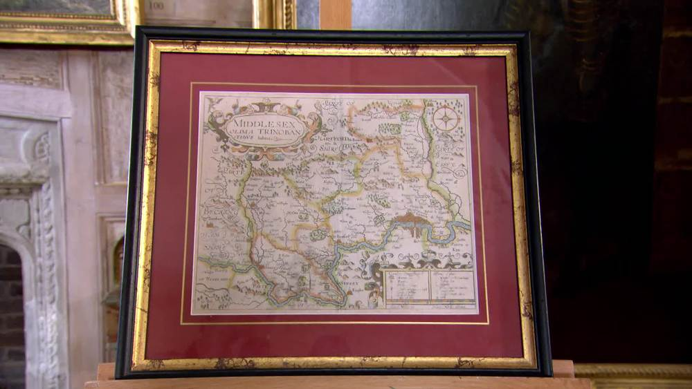 Map of Middlesex. £320 | The Swan |www.theswan.co.uk