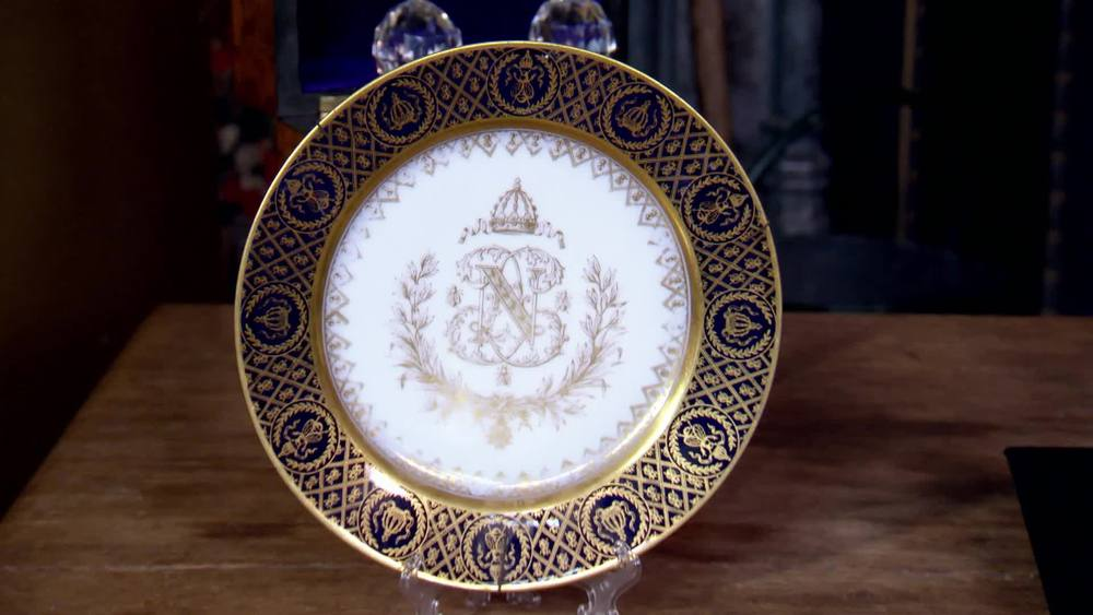 Plate produced by the factory Sevres. £180 | Private Collection