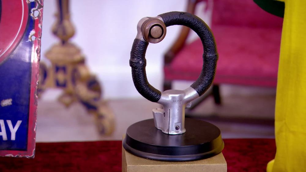 Mounted Hurricane Fighter Plane Yoke. £1450 | London Medal Company | www.london-medals.co.uk