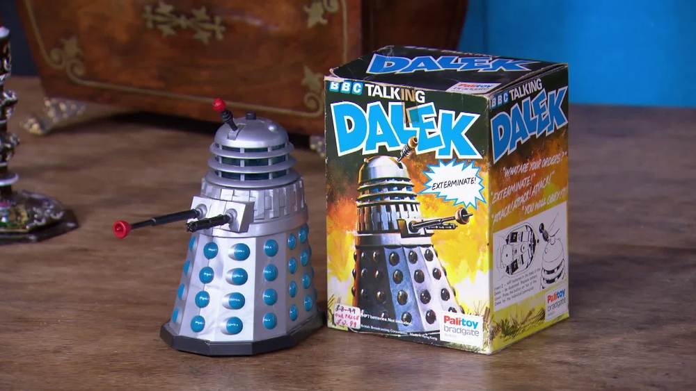 Talking Dalek 1975. £300 | The Who Shop | www.thewhoshop.com