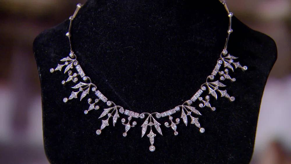 Victorian Diamond Necklace from 1870s. £18,500 | Michael Rose | www.michaelrose.com