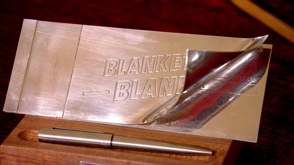 A 1980's Blankety Blank Chequebook and Pen. £280 | Private Collection