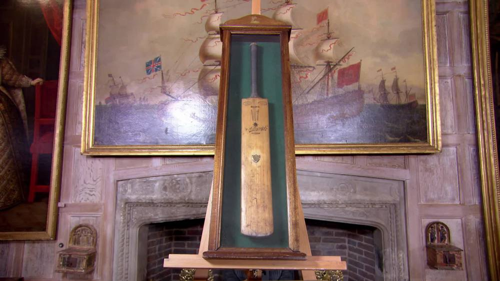 Framed Cricket Bat. £300 | Private Collection